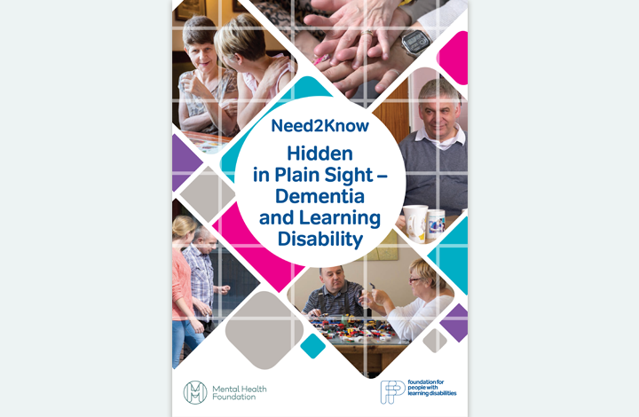 Hidden in plain sight: dementia and learning disability